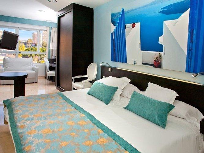 Habitación individual villa del mar hotel benidorm