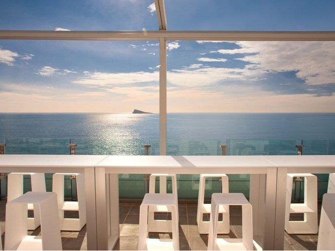 Terraza Villa del Mar Hotel Benidorm